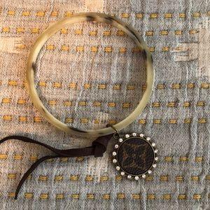 Bangle Bracelet with designer charm